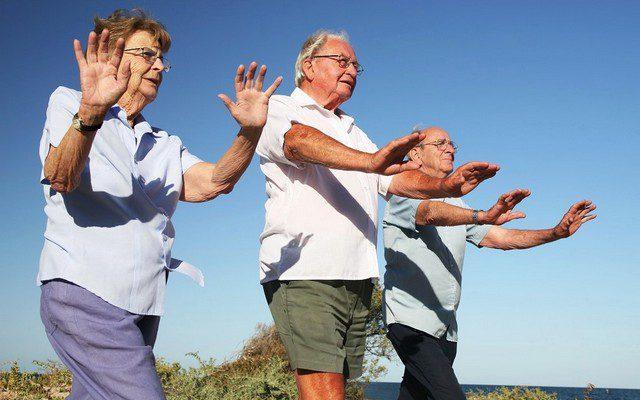 Гимнастика для пожилых. Возраст – не помеха физической активности