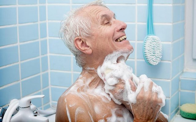 Личная гигиена пожилого человека