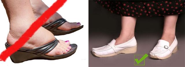 Выбор подходящей обуви для пожилых людей