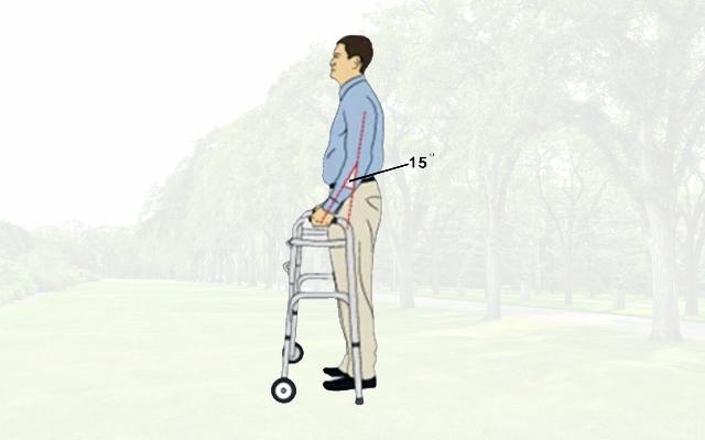 Как передвигаться с ходунками